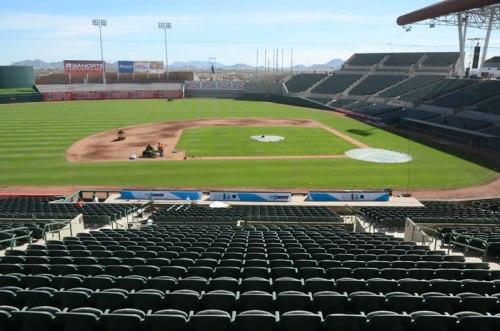 """El Estadio Sonora tiene una capacidad de albergar a 16 mil aficionados y será usado por el equipo profesional de béisbol """"Naranjeros de Hermosillo"""""""