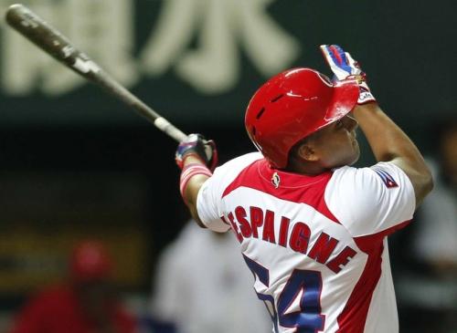 Despaigne Rodríguez (LF) conectó cuadrangular de tres carreras / FOTO Koji Sasahara / AP