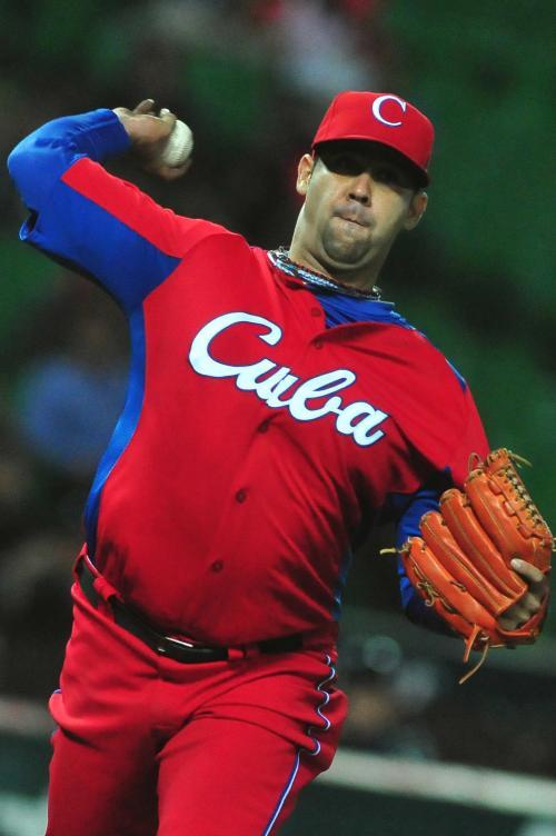 Ismel lanzó 4,2 innings, con cuatro hits y seis ponches / FOTO Ricarlo López Hevia