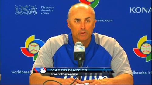 El manager italiano Marco Mazzieri llegó hasta aquí con una selección bien ofensiva