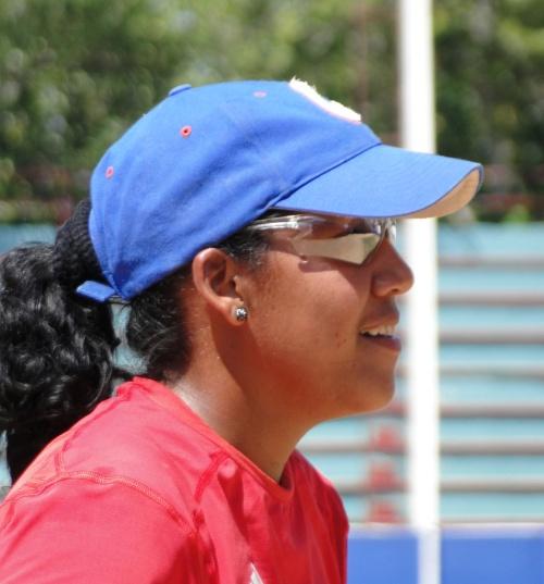Ana Bertha Castellanos, equipo de Granma de béisbol femenino