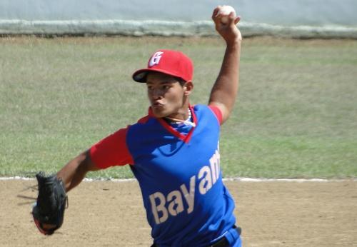 Jorge Torres Aguilar, lanzador equipo de béisbol de Bayamo