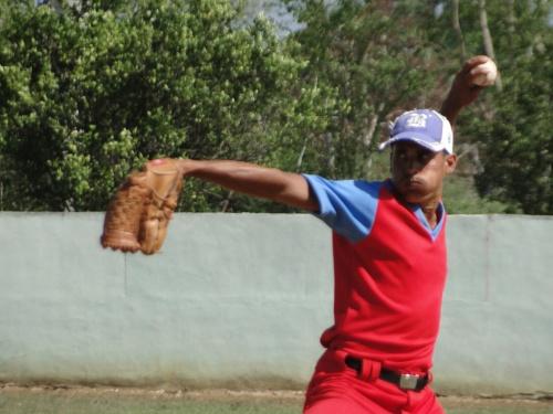 Lisvani Fonseca, equipo de béisbol de Buey Arriba