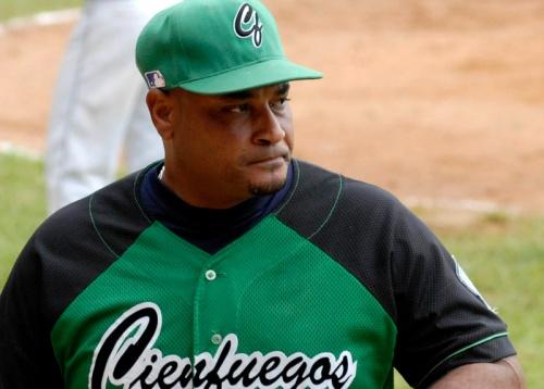 Iday Abréu, manager del equipo de Cienfuegos