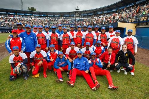 Equipo Cuba, Rótterdam 2013