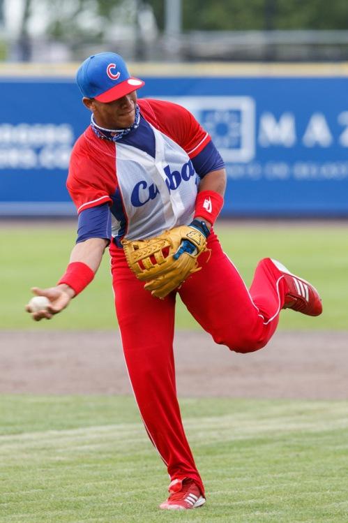 Johan Moncada, equipo Cuba de Béisbol