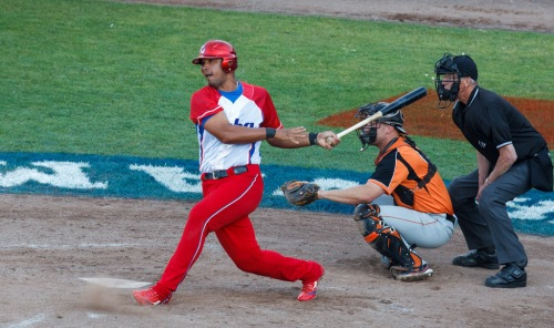 José Dariel Abréu, cuarto bate equipo Cuba de béisbol