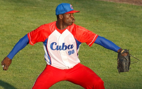 Noelvis Entenza, equipo Cuba de béisbol