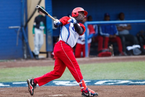 Stayler Hernández, equipo Cuba de béisbol