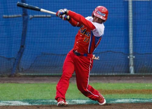 Yadiel Hernández, equipo Cuba de béisbol