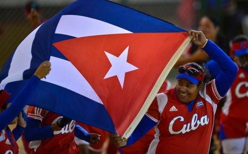 Equipo de softbol de Cuba, Campeón de los Juegos Mundiales 2013