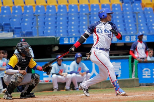 Yoan Moncada Olivera, equipo Cuba sub 18