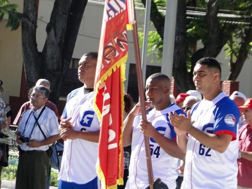 Samón (izq), Despaigene (centro) y Ciro Silvino (der)