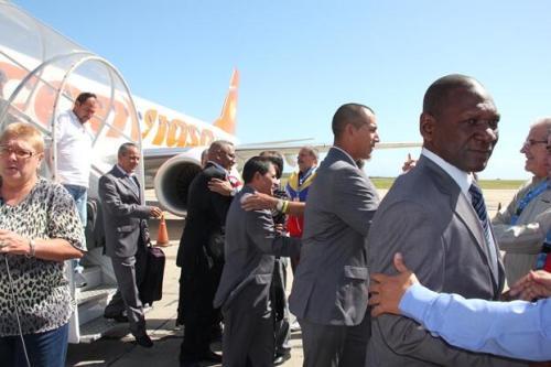 El equipo de Villa Clara (Cuba) arribó hoy a Isla Margarita