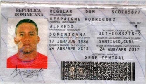 Pasaporte Alfredo Despaigne