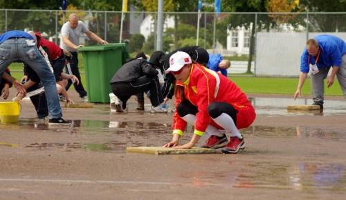 Un torneo pasado por agua / FOTO Franklin van der Erf