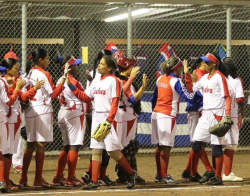 Equipo Cuba de Softbol Femenino