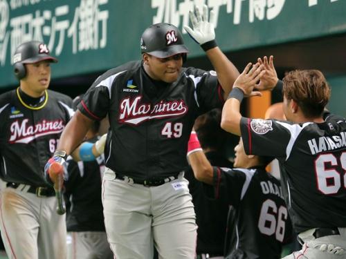 Despaigne batea para 306 en los últimos diez partidos  / FOTO Chiba Lotte Marines