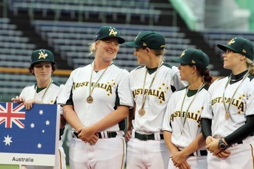 Australia, Bronce en el VI Campeonato Mundial de Béisbol Femenino