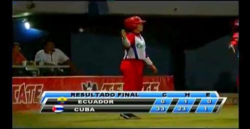 Cuba vs Ecuador