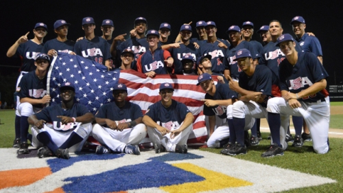 Estados Unidos jugó un torneo perfecto / FOTO USA Baseball