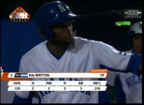 Britton conectó el hit que dejó al campo a los boricuas