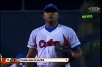 Freddy Asiel Álvarez, el abridor de Cuba