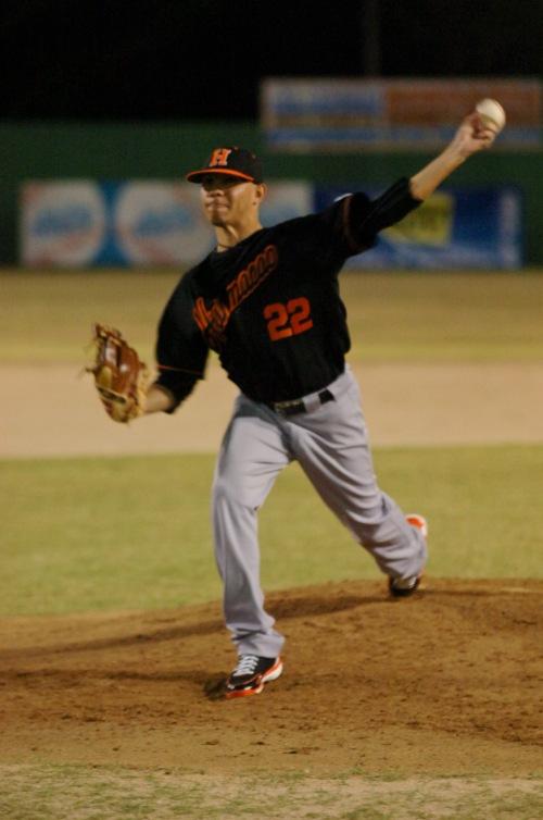 Este es un lanzador que actuó en esta temporada con Los Mulos de Juncos, equipo de la Liga de Béisbol Superior Doble A (Amateur) borinqueña.