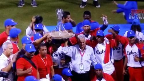 Cuba gana su primer título luego de 55 años