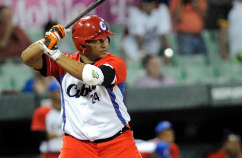 Cepeda fue el responsable de qUE Cuba estuviera en la final / Roberto MOREJÓN RODRÍGUEZ