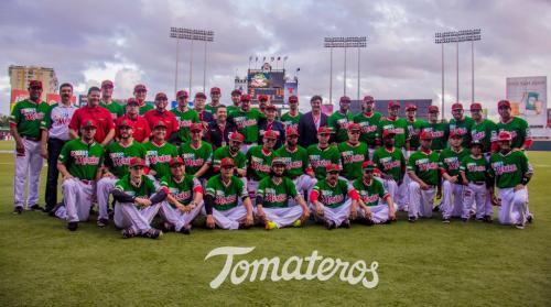 Foto oficial de los Tomateros de Culiacán, México