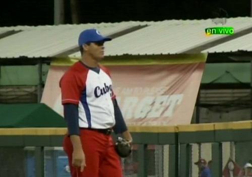 Yosvani Torres Gómez, lanzador de Cuba