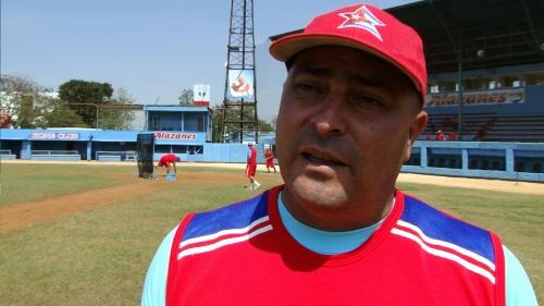 Roger Machado Morales, manager de Ciego de Ávila