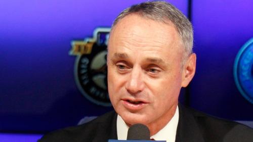 Rob Manfred comisionado del béisbol cree que Grandes Ligas