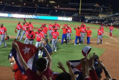 Cuba consigue su primera victoria en el Tope contra Estados Unidos