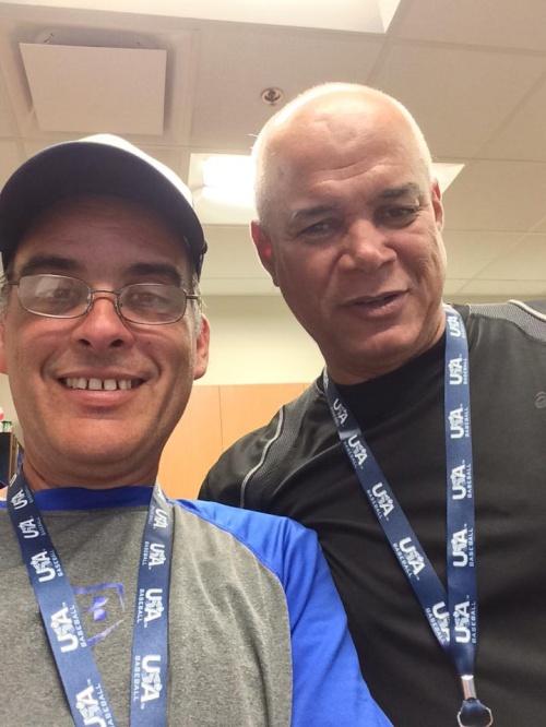 Tony Díaz y Josué Rojas
