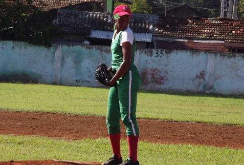 Yanet Cruz, béisbol Granma