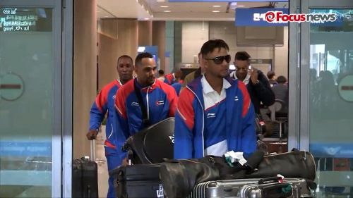 Arribo de Cuba a Korea