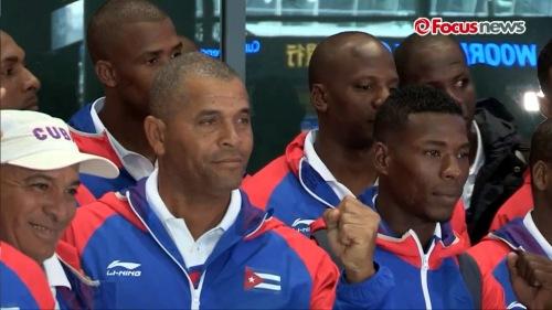Arribo del equipo Cuba de Béisbol a Korea 3