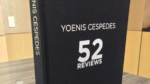 Libro Yoenis Céspedes