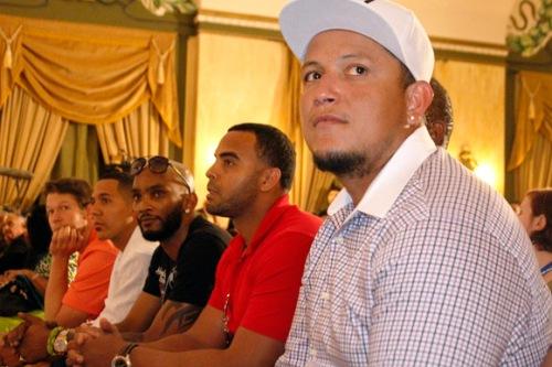 Miguel Cabrera, Nelson Cruz, Alexei Ramírez, Jon Jay y Clayton Kershaw - copia