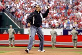 Obama, béisbol Cuba
