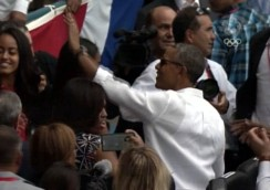 Obama, estadio Latinoamericano