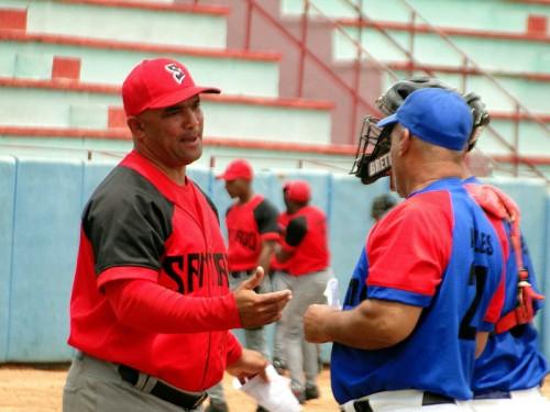 Heriberto Rosales, manager Santiago de Cuba Sub-23