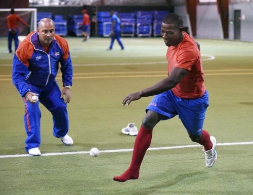 Entrenamiento del equipo Cuba 2