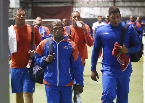 Entrenamiento del equipo Cuba 4