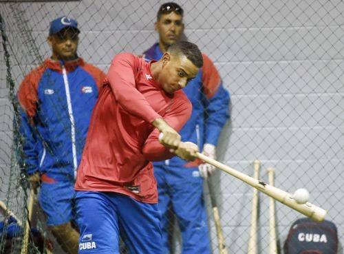 Entrenamiento del equipo Cuba 9