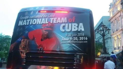 Equipo Cuba en Canadá 1