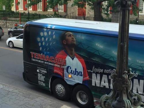 Equipo Cuba en Canadá 2