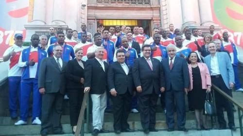 Equipo Cuba en Canadá 5